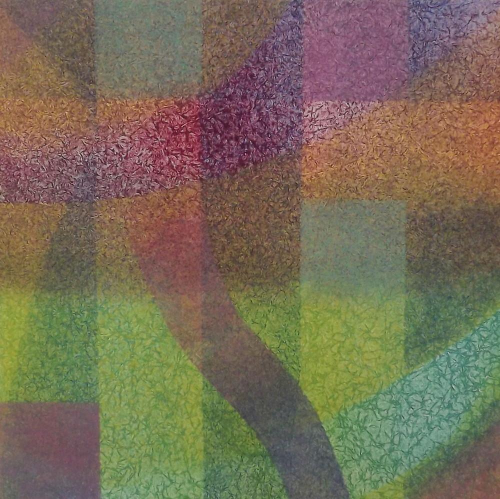 """Colorfoil, monotype, 12 x 12"""""""