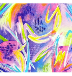 "Celebration, 18"" X 30"", 2004"
