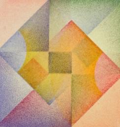 "Envelopment # 2, aquatint, Geometric Series, 7  x 7"""